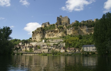 Along the Dordogne river